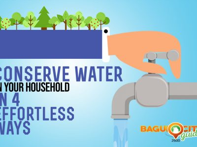 water conservation household tips